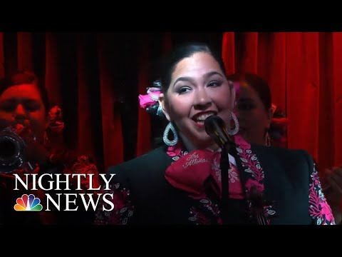 Wave Of Women Making Mariachi Their Own | NBC Nightly News