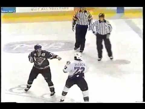 George Parros vs Mike Sgroi