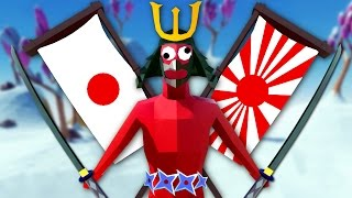 TITANS ATTACK JAPAN - Totally Accurate Battle Simulator (TABS)