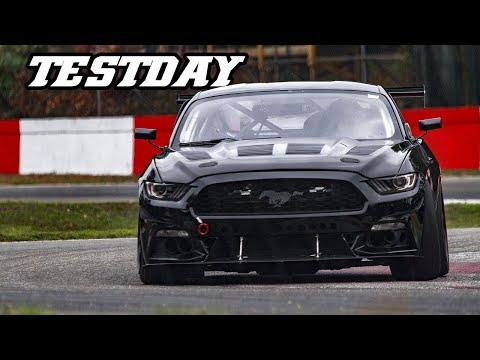 Mustang, E90 M3, GT86 cup, AMG GTR, 991.2 GT3,  Testday zolder 2018-10-25