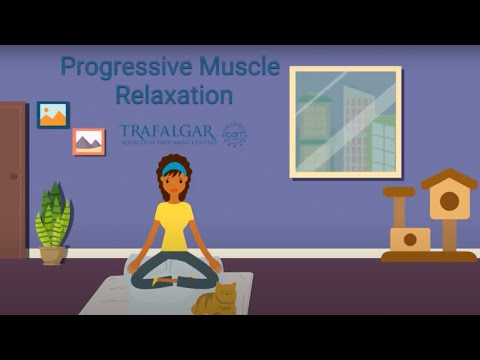 The cover picture for the video of Progressive Muscle Relaxation webinar.