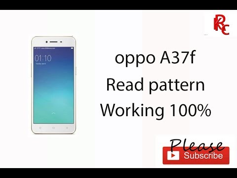 Oppo A37F Easy Read pattern lock with Miracle Box Full Video HD