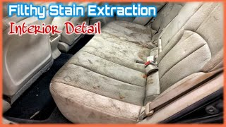 FILTHY STAIN EXTRACTION (SUPER DIRTY) 〡MECHANIC DAILY - FULL LENGTH INTERIOR DETAIL