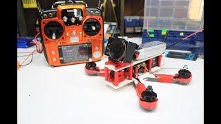 Гоночный FPV квадрокоптер на 3D принтере