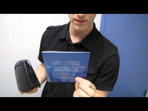 Linksys WES610N Wireless N Entertainment Bridge Unboxing & First Look Linus Tech Tips