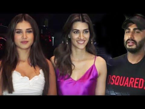 Gorgeous Tara sutaria | Arjun | Kriti Sanon | Screening Of Film India's Most Wanted With Many Celebs