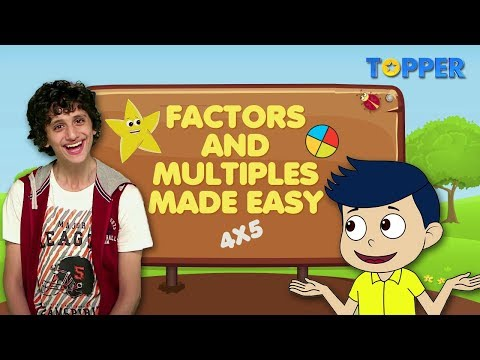Factors and Multiples made easy |Prime Factorization| Find factors of all numbers| Class 1 to 5 |