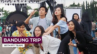 SALSHABILLA #VLOG - SHORT GETAWAY WITH MY TEAM!