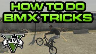 GTA V - How to do BMX Tricks