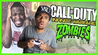 WE CAN'T TURN ON THE POWER!! - COD Infinite Warfare Zombies