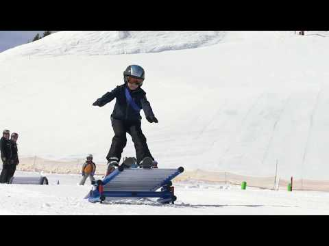Winter am Erlebnisberg Golm - Spaß für die ganze Familie