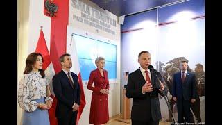 Spotkanie Prezydenta RP i Małżonki oraz duńskiej Pary Książęcej z weteranami