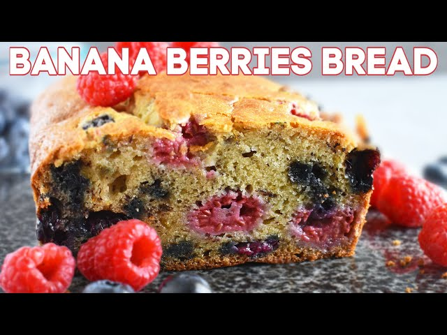 Banana Berries Bread (VIDEO)