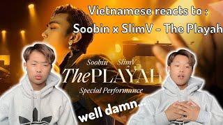 SOOBIN X SLIMV - THE PLAYAH (Special Performance / Official Music Video) | Oscar Tuyen