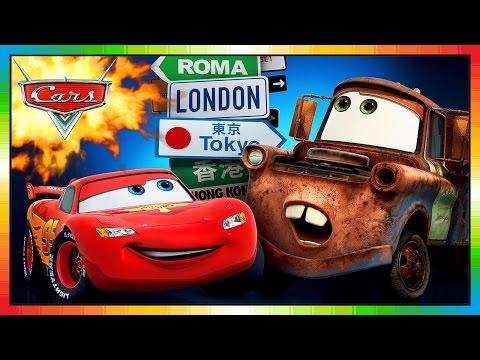 Disney Cars International 2014 Pixar Lightning Mcqueen Mater