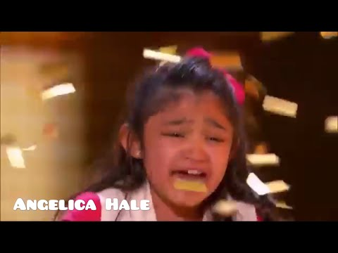 America's got talent 2017 Angelica Hale gets GOLDEN BUZZER!!!