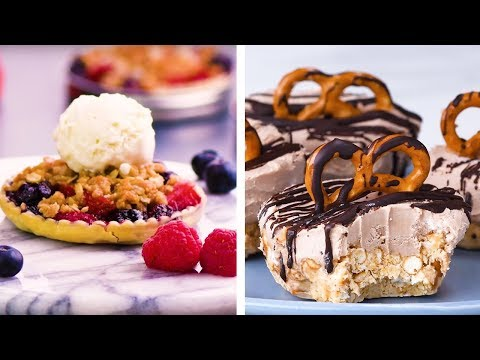 Salty Sweet Crunchy and Petite! Yummy Bite Sized Dessert Ideas! | DIY Dessert Hacks by So Yummy