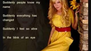 Ashley Tisdale - Suddenly - lyrics