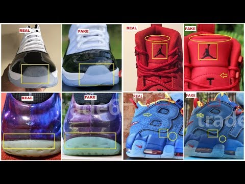 c78e68b2f8af0d How To Identify Fake Sneakers  Authenticate Air Jordan Retros   Nike ...