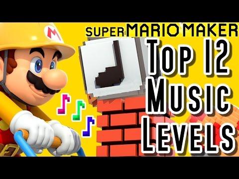 , title : 'Super Mario Maker TOP 12 MUSIC LEVELS (Wii U)'