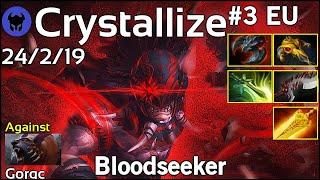Crystallize plays Bloodseeker!!! Dota 2 7.22