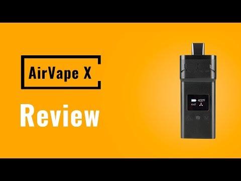 AirVape X Vaporizer Review - Vapesterdam