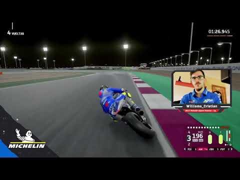 MotoGPバーチャルレース チャレンジ2 ベストラップ動画(カタールGP)