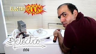 ElectroVLOG-004: The LAST Attempt at Tesla in Vacuum