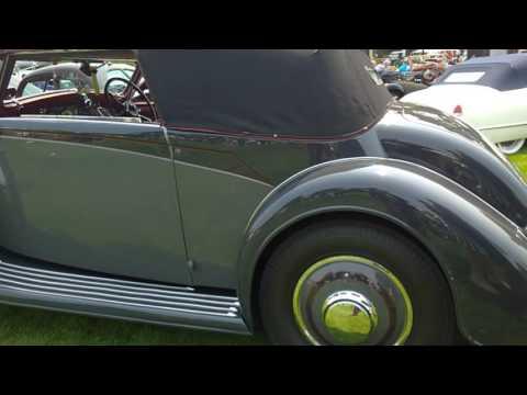 1934 Hispano Suiza J12 Vanvooren Coupe at 2016 Quail Motorsports Gathering