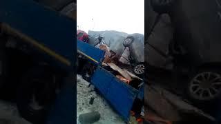 Авария на трассе М-4 в Ростовской области