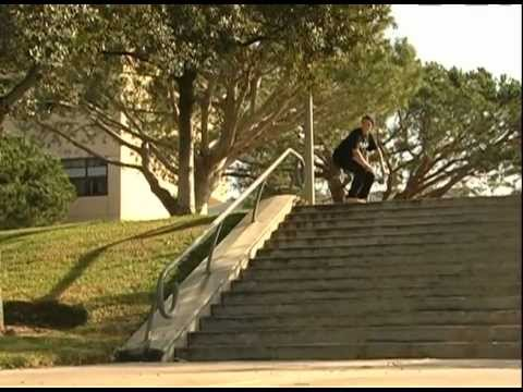 SKATEBOARDING - DUSTIN BLAUVELT - SWITCH BARLEY GRIND