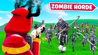 ZOMBIE HORDE *NEW* Fortnite Custom Gamemode!