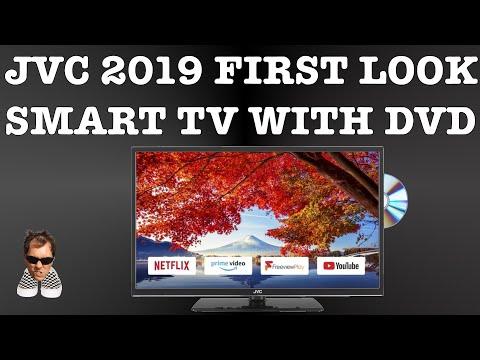 "JVC LT-32C695 SMART TV NEW 2019 first look 32"""
