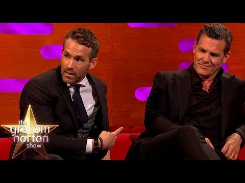 V obleku Deadpoola - The Graham Norton Show