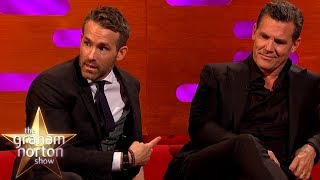 Ryan Reynolds Struggles With The Deadpool Suit | The Graham Norton Show