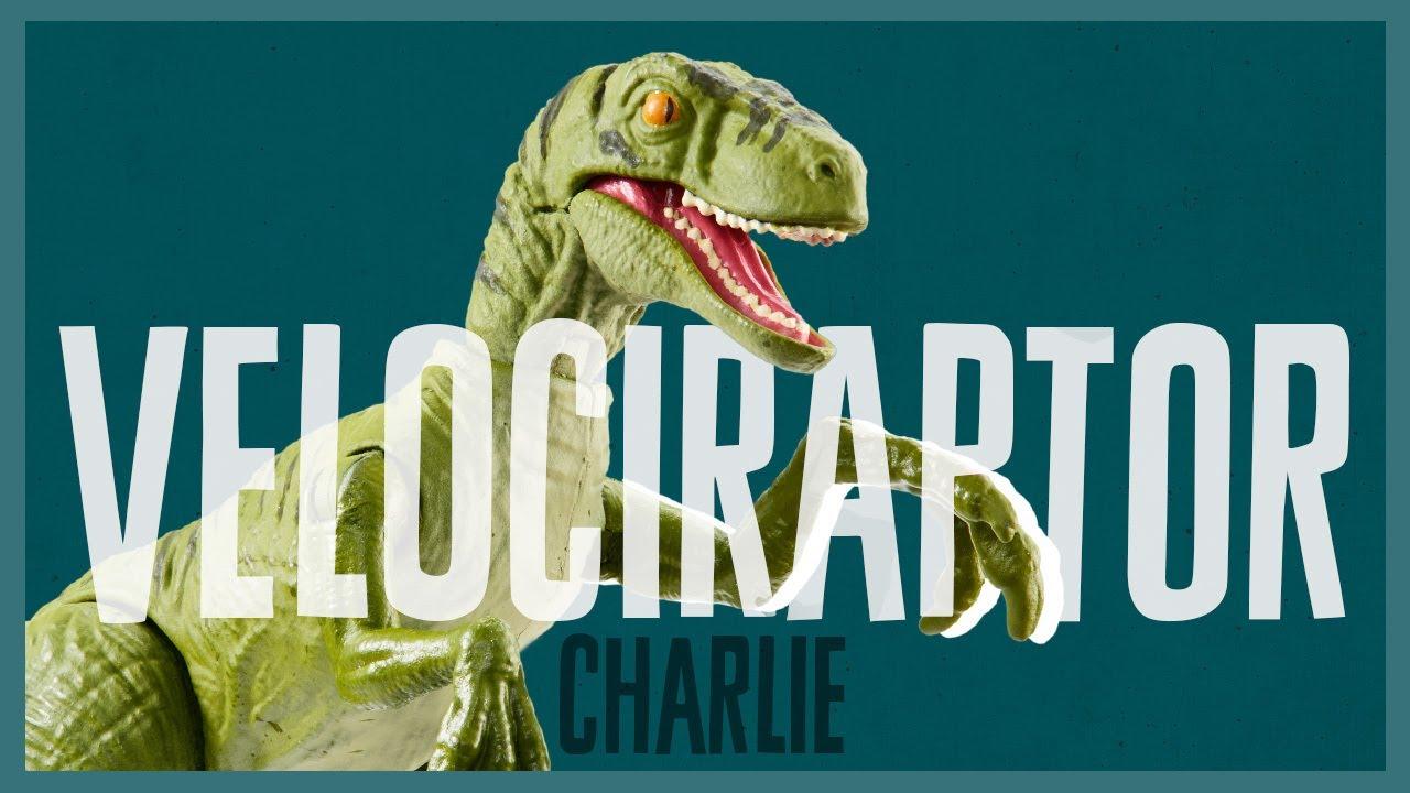 『ジュラシック・ワールド』 最強恐竜トレーニング完了(チャーリーver)【マテル版】