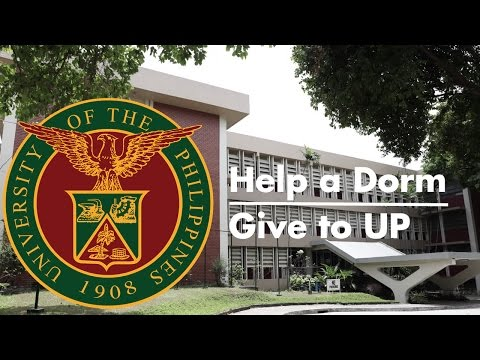 Help a Dorm, Give to UP