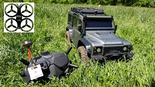 FPV TRX 4 Defender RC Crawler