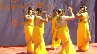 ASAR SANG BONGA JHIPIR DAH E JARI AA/ SANTHALI DANCE PERFORMANCE / BANGALORE SANTALS MEET 2017