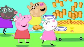 Peppa Pig Official Channel 🍞 Peppa Pig, Friends and the Toaster!