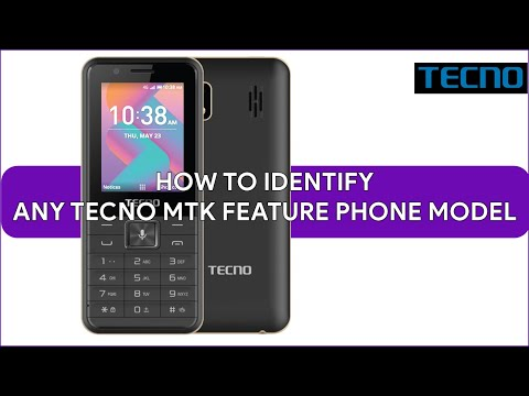 How To Indentify Any Tecno MTK Feature Phone Model - [romshillzz]