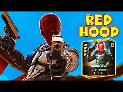 Injustice 2 Mobile. Red Hood Gameplay + Review. My Roster is FULL Now!