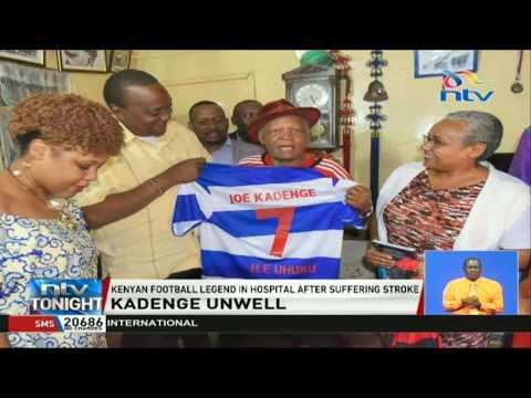 Kenyan football legend Joe Kadence in hospital after suffering a stroke