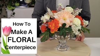 MAKING SUMMER CENTERPIECE 2020 (easy Floral Arranging Hacks )