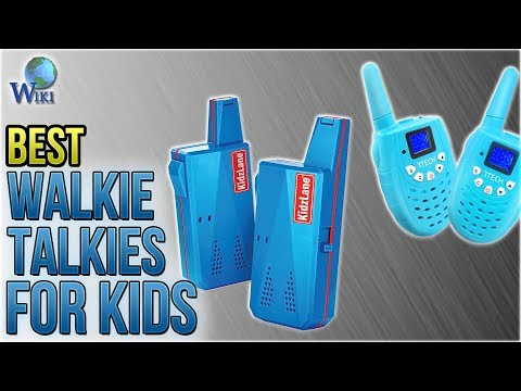 10 Best Walkie Talkies For Kids 2018