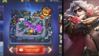 NEW Halloween Game Mode + Lancelot Skin Gameplay Mobile Legends