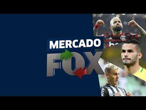 MERCADO FOX! Gabigol no Barça? Fla no aguardo de T. Maia e Galo buscando Róger Guedes