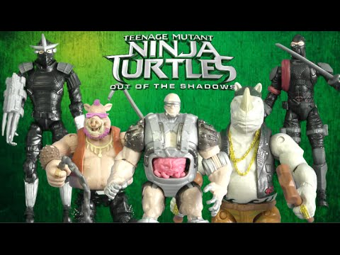 Teenage Mutant Ninja Turtles Out Of The Shadows Rocksteady From Playmates Toys