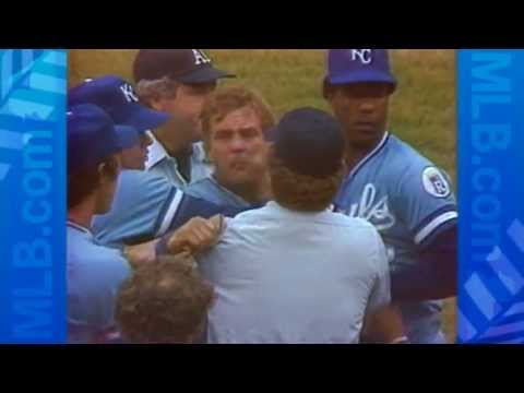 George Brett and the pine tar incident
