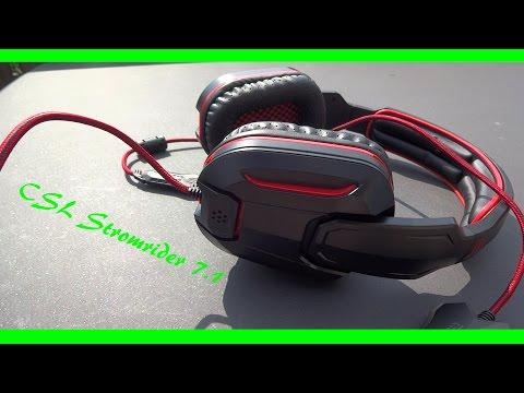 CSL Stromrider 7.1 (schwarz/rot)   Ein Headset für 17€?!